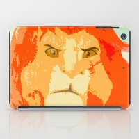 simba iPad Cases featuring Simba by Makayla Wilkerson