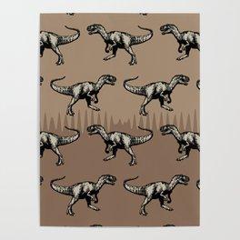 ChocoPaleo: Allosaurus Poster