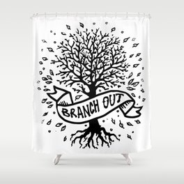 Branch Out Shower Curtain