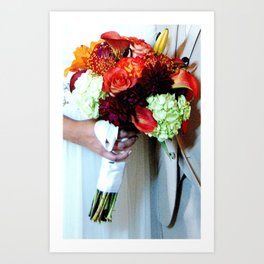 Wedded Bliss Art Print