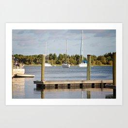 Beaufort, NC Art Print