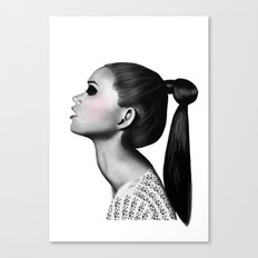 Ponytail Canvas Print