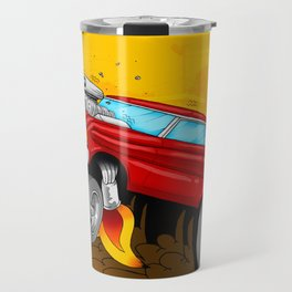 Hotrod Falcon Travel Mug