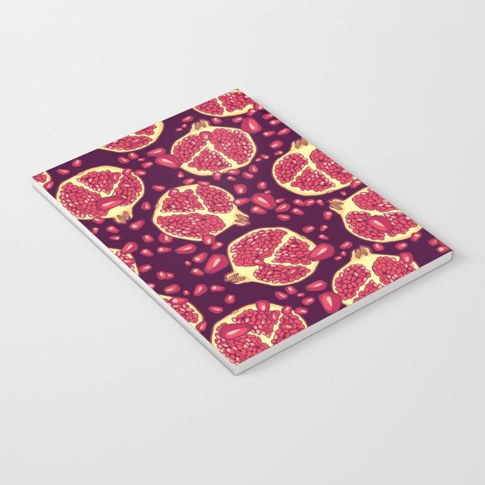 Pomegranate pattern. Notebook