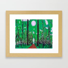 Guiding Spirit of the Forest Framed Art Print