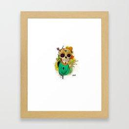 Calavera del Sur! Framed Art Print