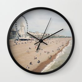 let's go to the beach Wall Clock