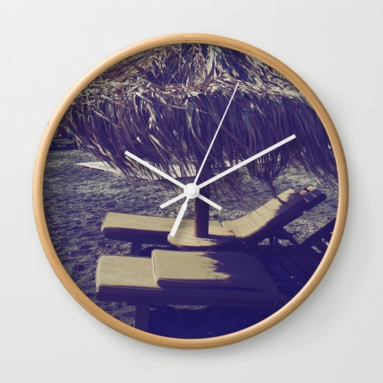 Private Paradise II Wall Clock