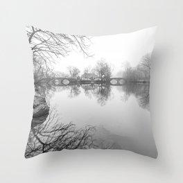 Double Bridges - Clove Lakes Throw Pillow