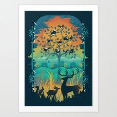 Natural Wonders Art Print