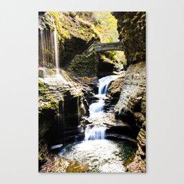 Watkins Glen Falls Canvas Print