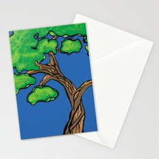gnarly tree Stationery Cards