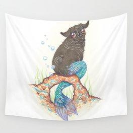 SneakyPoot - Merpug Wall Tapestry