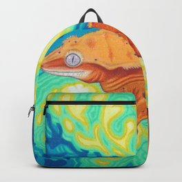 Red Crested Gecko Backpack