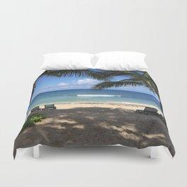 St. Croix Beach Duvet Cover