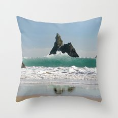 BroadHaven South Beach.Pembrokeshire.Wales. Throw Pillow