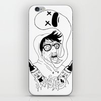 wasted rita iPhone & iPod Skins featuring Wasted by derekpants
