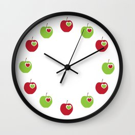 She'll Be Apples Wall Clock
