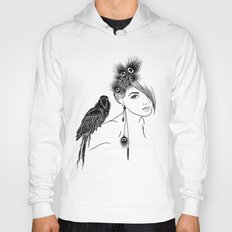 Parrot Girl Hoody