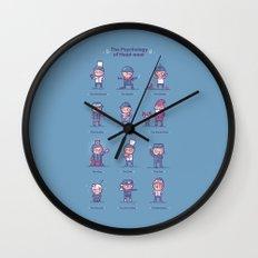 Psychology of headwear Wall Clock