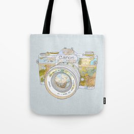 TRAVEL CAN0N Tote Bag