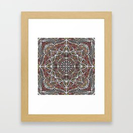 Mandala Pattern Design 20 Framed Art Print