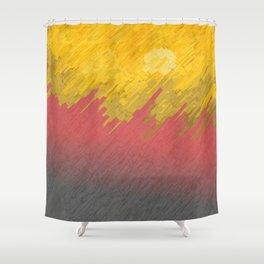 Final in fire Shower Curtain