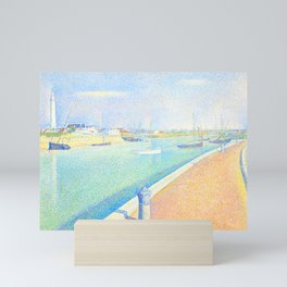 """Georges Seurat """"The Channel of Gravelines, Petit Fort Philippe"""" Mini Art Print"""