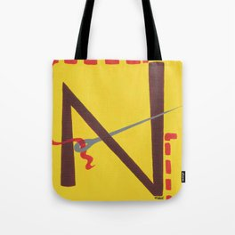 N is for Needle Tote Bag