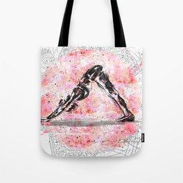 Down dog yoga Tote Bag