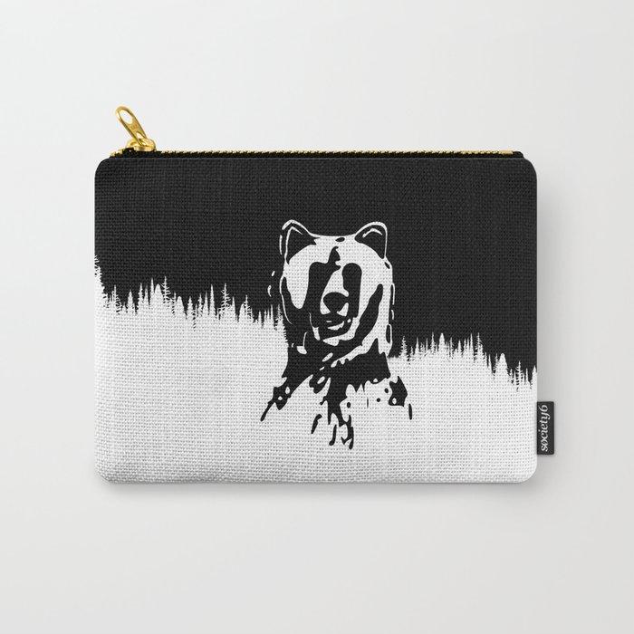 Bear Spirit Carry-All Pouch