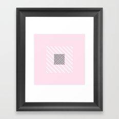 Stripes pattern Framed Art Print