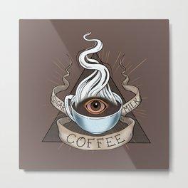 The Coffee Trinity Metal Print