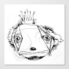 clowns in crowns #15 Canvas Print