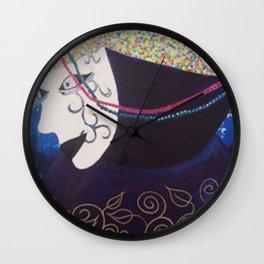 """JC Morgan """"Mardi Gras"""" Wall Clock"""