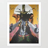 spawn Art Prints featuring Spawn  by Diablues Hands