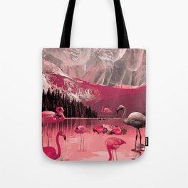 Flamingo Land Tote Bag