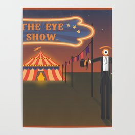 wellcome to the eye show Poster