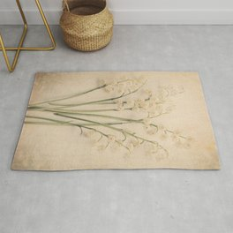 Scents of Spring - Lily of the Valley v Rug