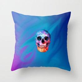 Celestial Skull Throw Pillow