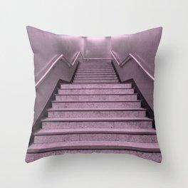 Tube Stairs Throw Pillow