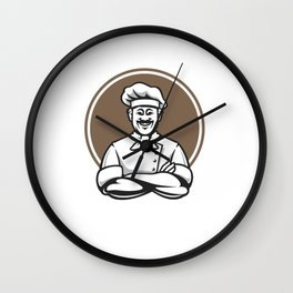 Go Cry In The Walk In Gift Shirt cook chef lovers Wall Clock