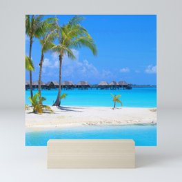 Tropical Island Mini Art Print