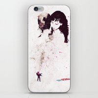 the shining iPhone & iPod Skins featuring Shining by  Maʁϟ