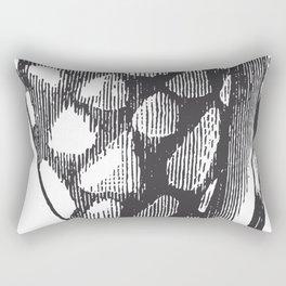 Engraved Shell Rectangular Pillow