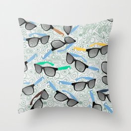 80's Shades Throw Pillow