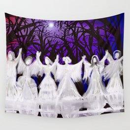 Midnight Prayers for the Living Sisters Wall Tapestry
