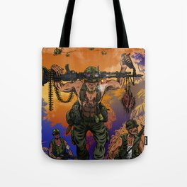 War Machine - The Nam Dude Tote Bag