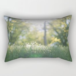 Grass in sunshine Rectangular Pillow