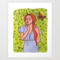 Metamorphan Art Print